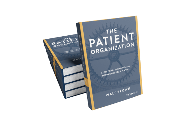 The Patient Organization Pile of Books