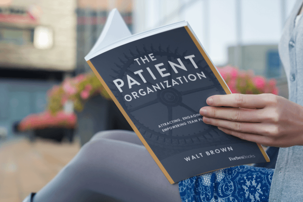 Woman Reading The Patient Organization