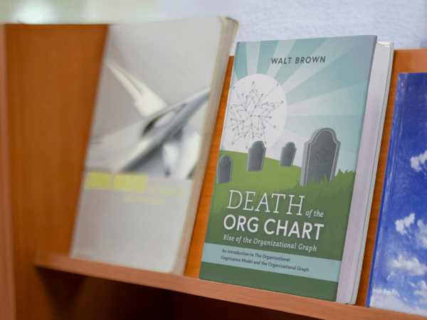 Death of the Org Chart on a shelf