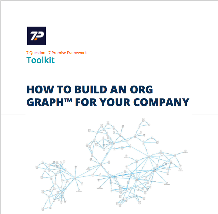 Cover of booklet that describes the steps you follow to create the details needed for an Org Graph to upgrade your org chart.
